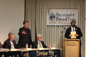 """Summer Reading at New York Libraries"" launch, May 10, 2012"