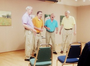 Dig Into Music with the ChorduroyBarbershop Quartet - Olean Public Library