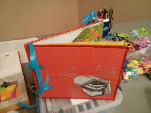 Tween Munch and Make - Altered Books - Olean Public library